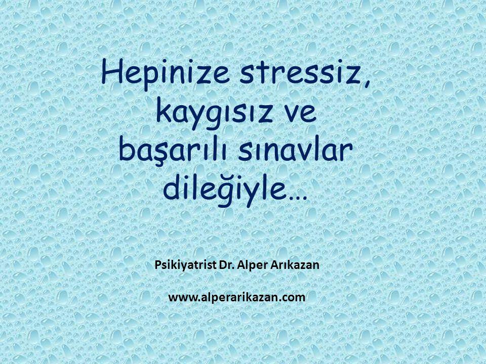 Psikiyatrist Dr. Alper Arıkazan