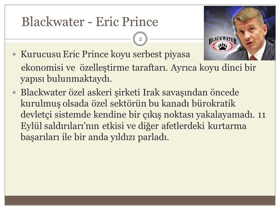 Blackwater - Eric Prince