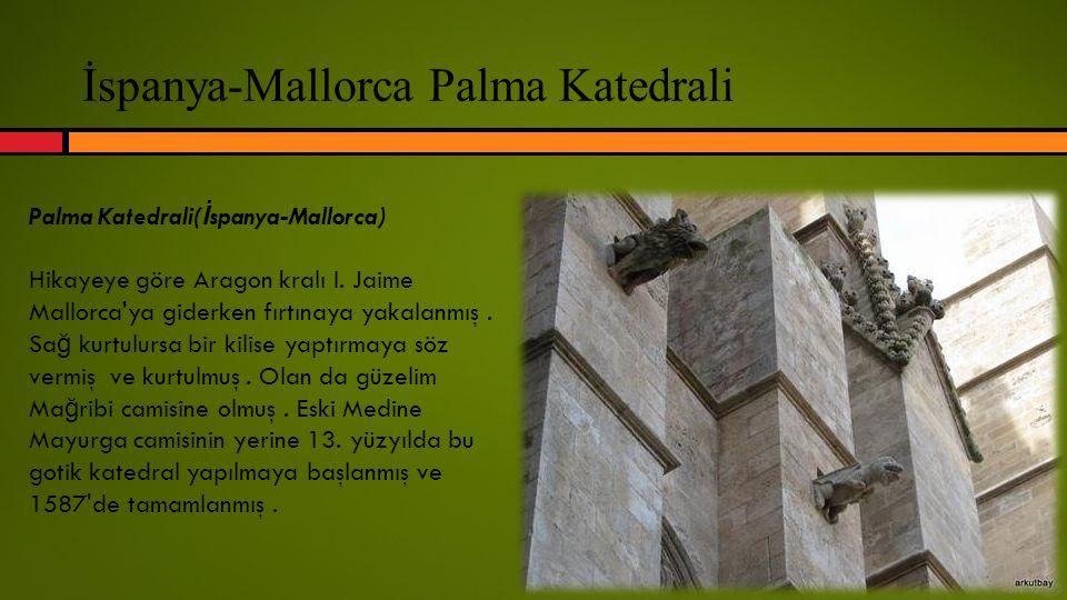 İspanya-Mallorca Palma Katedrali