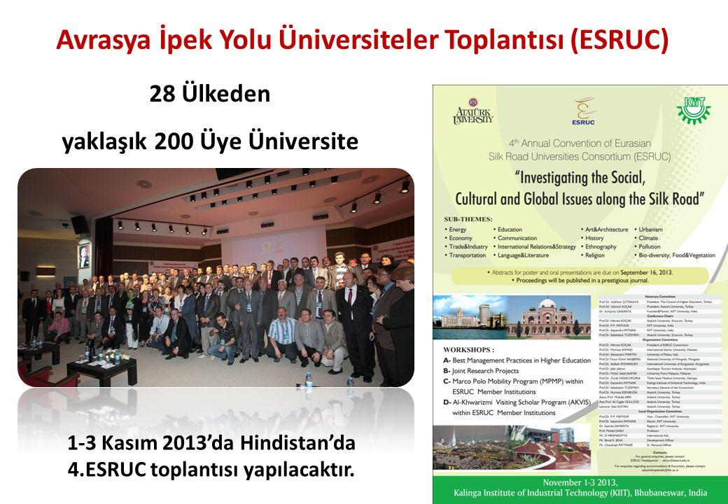 Avrasya İpek Yolu Üniversiteler Toplantısı (ESRUC)