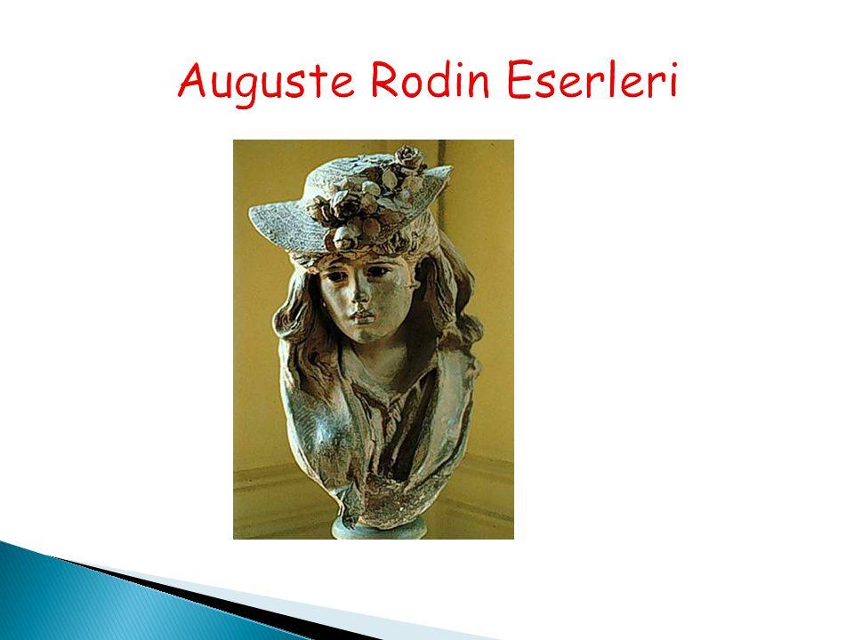 Auguste Rodin Eserleri
