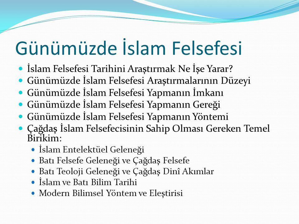 Günümüzde İslam Felsefesi