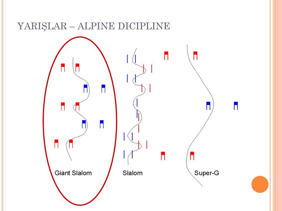 YARIŞLAR – ALPINE DICIPLINE