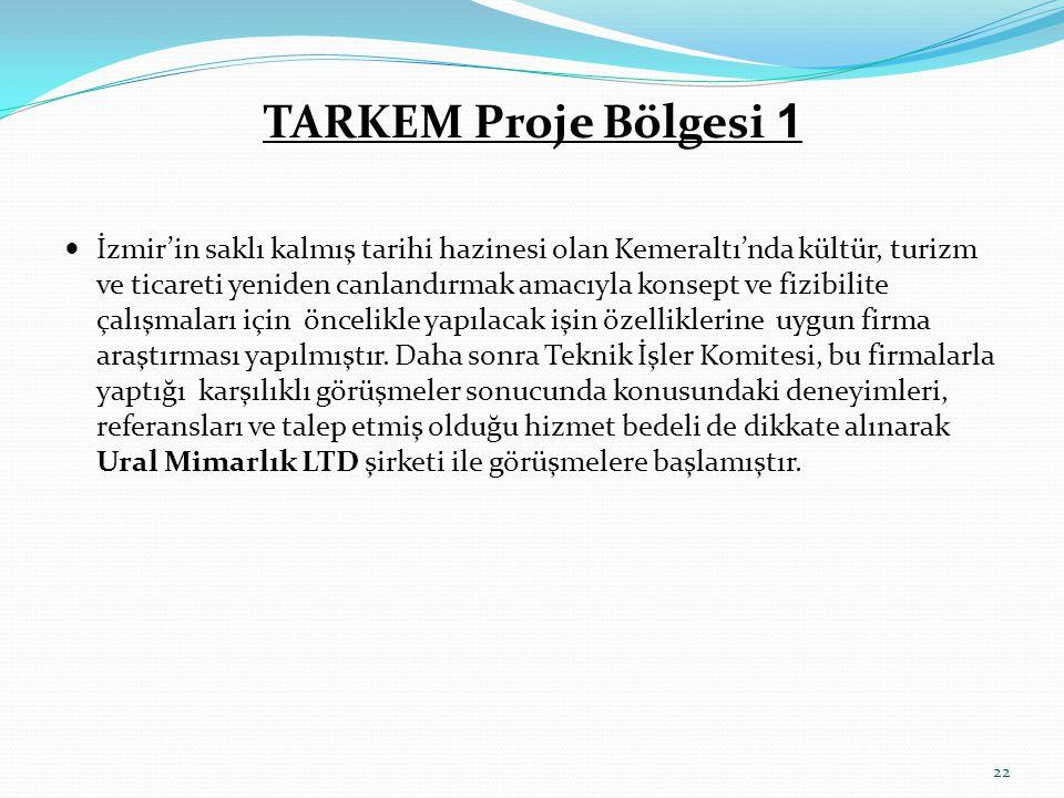 TARKEM Proje Bölgesi 1