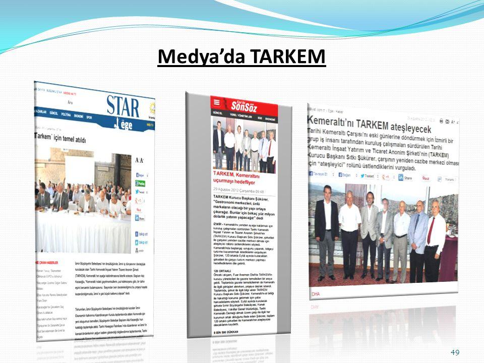 Medya'da TARKEM