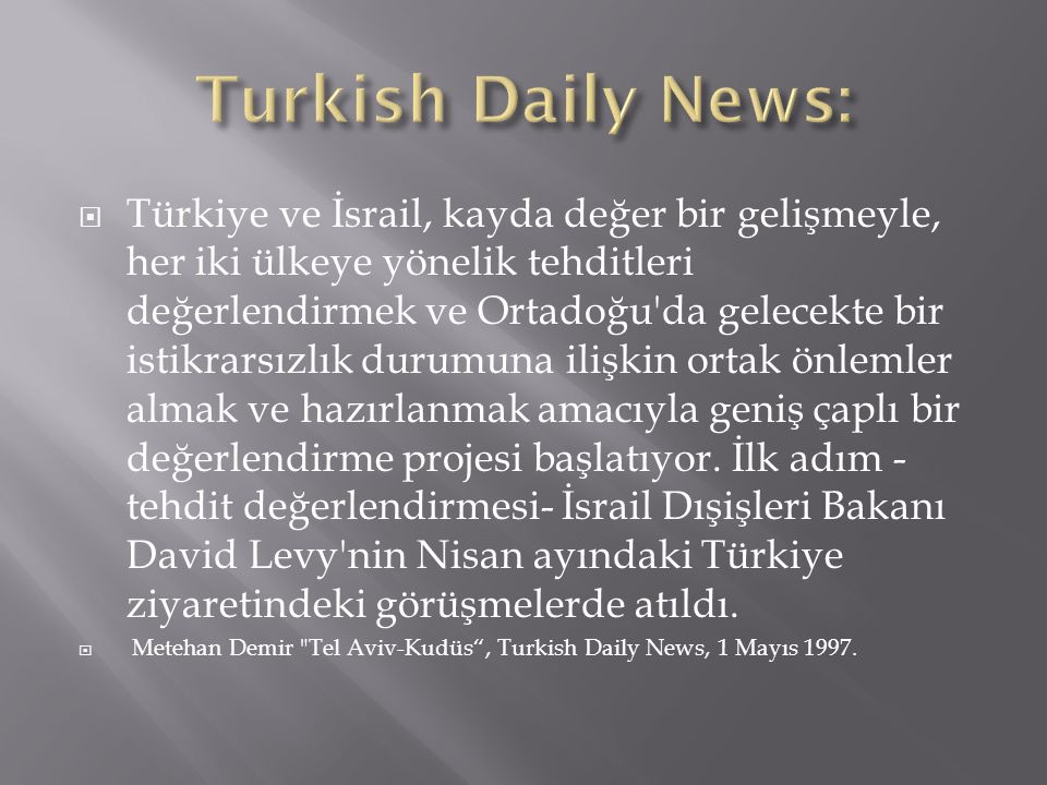 Turkish Daily News: