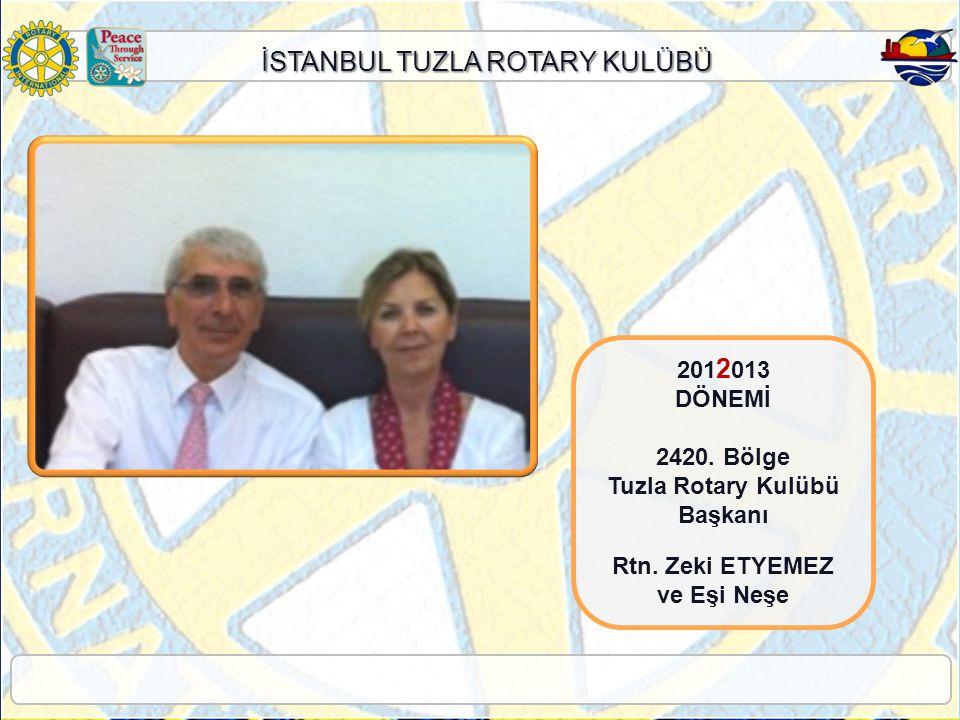 Tuzla Rotary Kulübü Başkanı