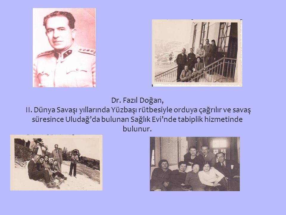 Dr. Fazıl Doğan,