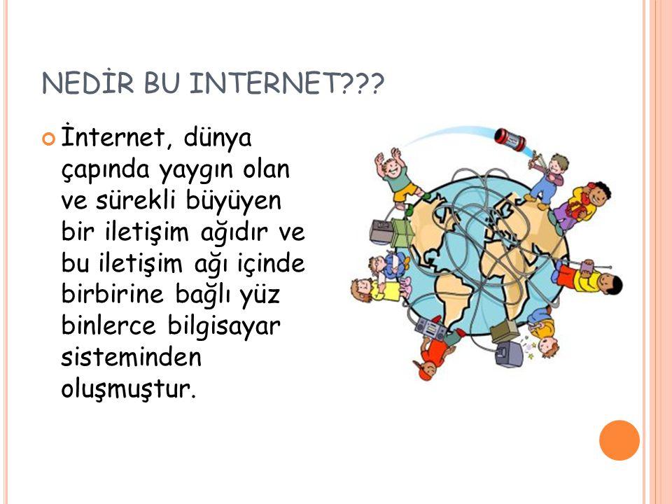 NEDİR BU INTERNET