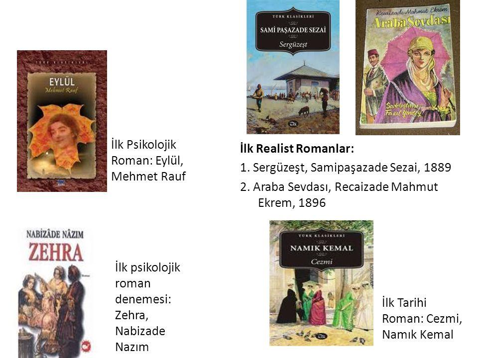 İlk Psikolojik Roman: Eylül, Mehmet Rauf
