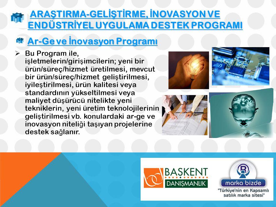 Ar-Ge ve İnovasyon Programı