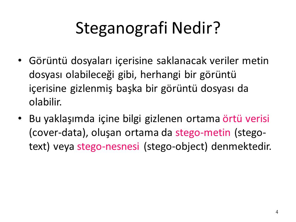 Steganografi Nedir