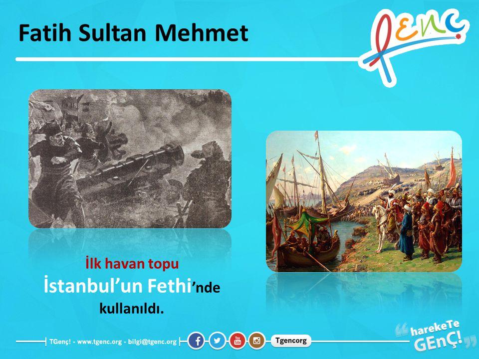 İstanbul'un Fethi'nde