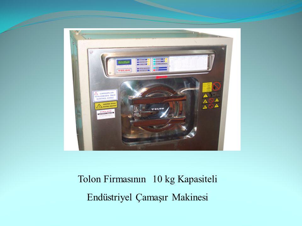 Tolon Firmasının 10 kg Kapasiteli Endüstriyel Çamaşır Makinesi