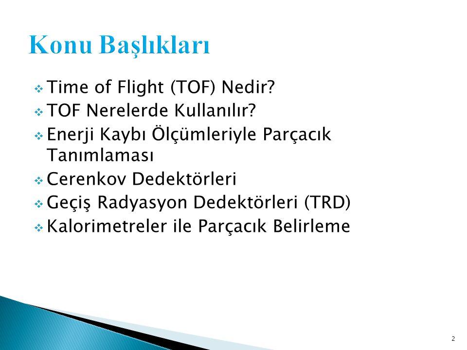 Konu Başlıkları Time of Flight (TOF) Nedir TOF Nerelerde Kullanılır