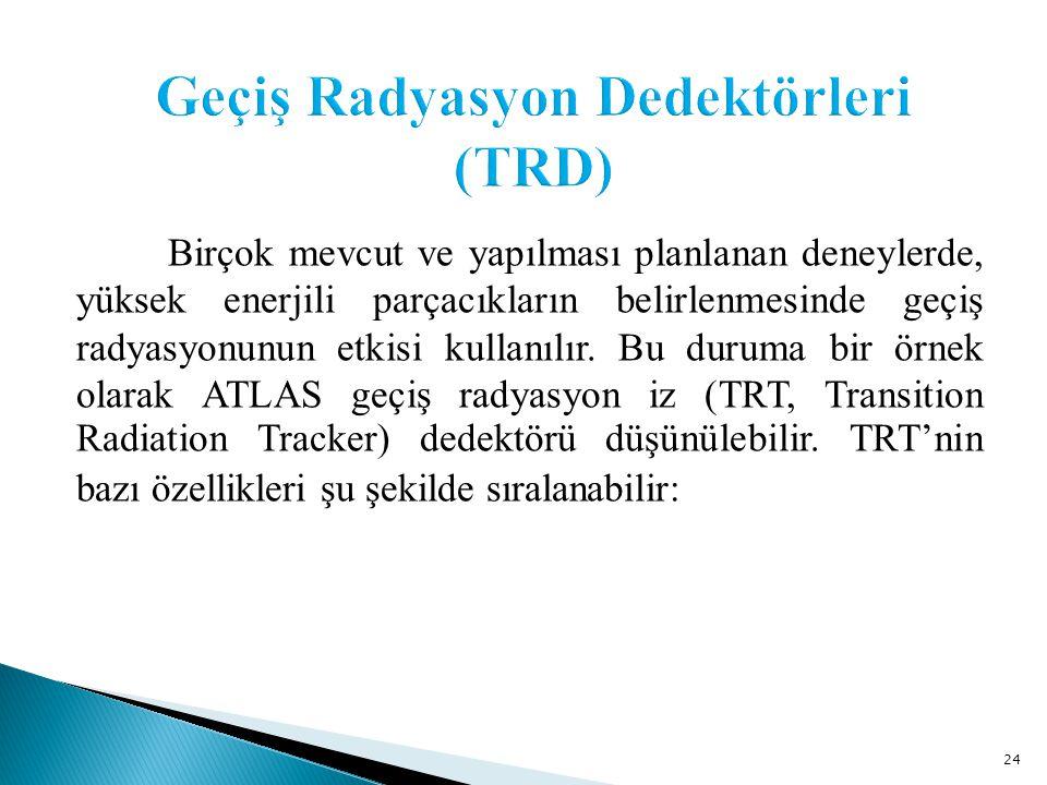 Geçiş Radyasyon Dedektörleri (TRD)