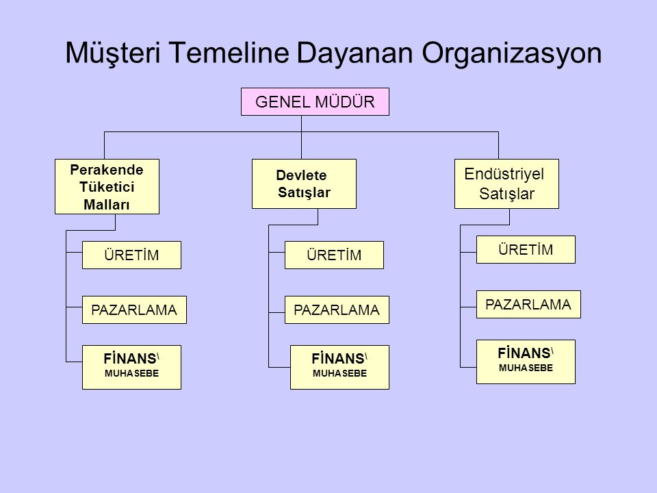 Müşteri Temeline Dayanan Organizasyon