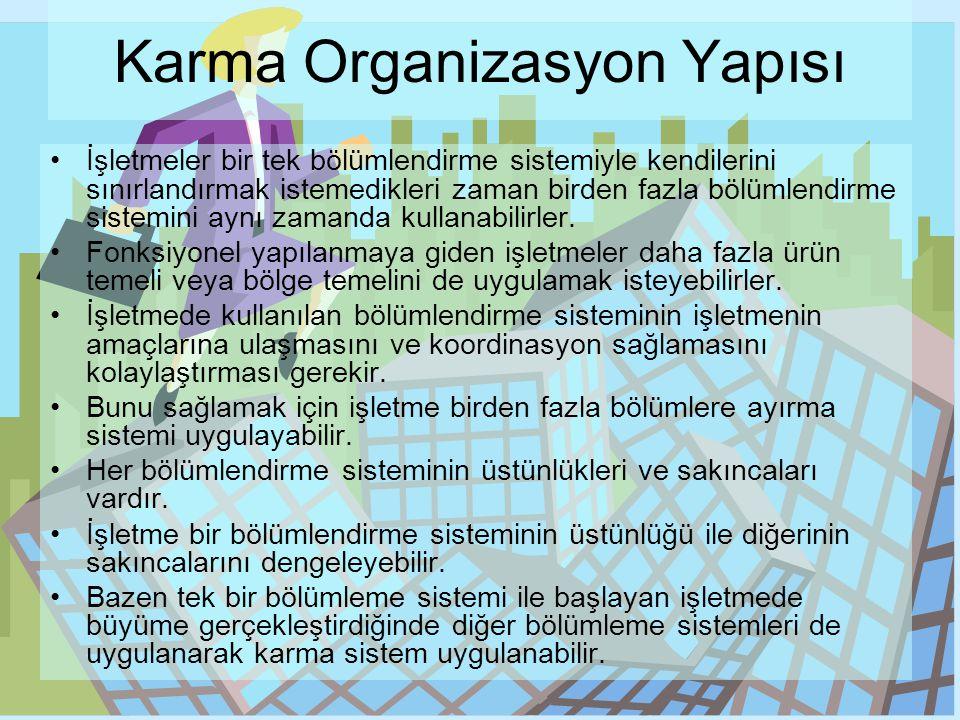 Karma Organizasyon Yapısı