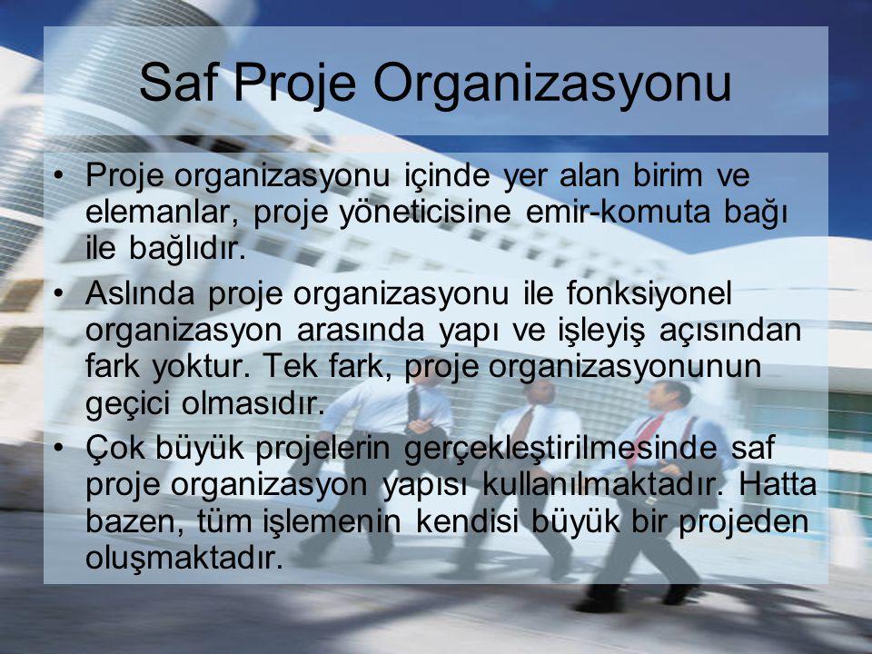 Saf Proje Organizasyonu