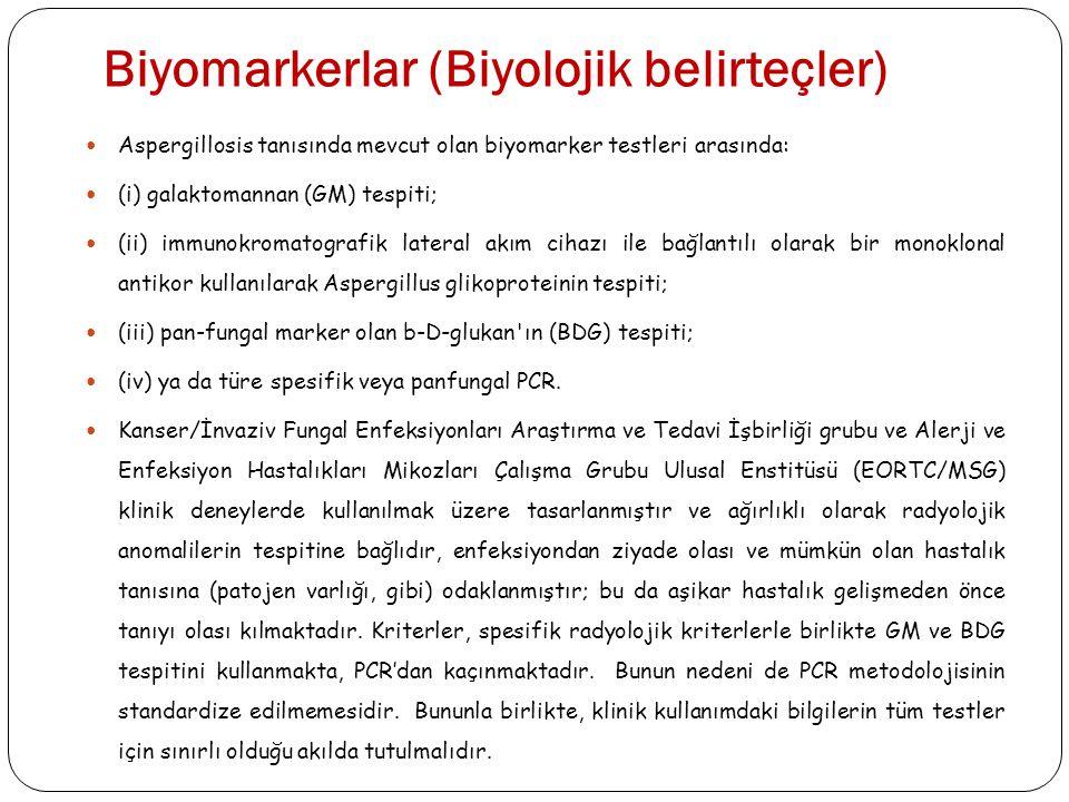 Biyomarkerlar (Biyolojik belirteçler)