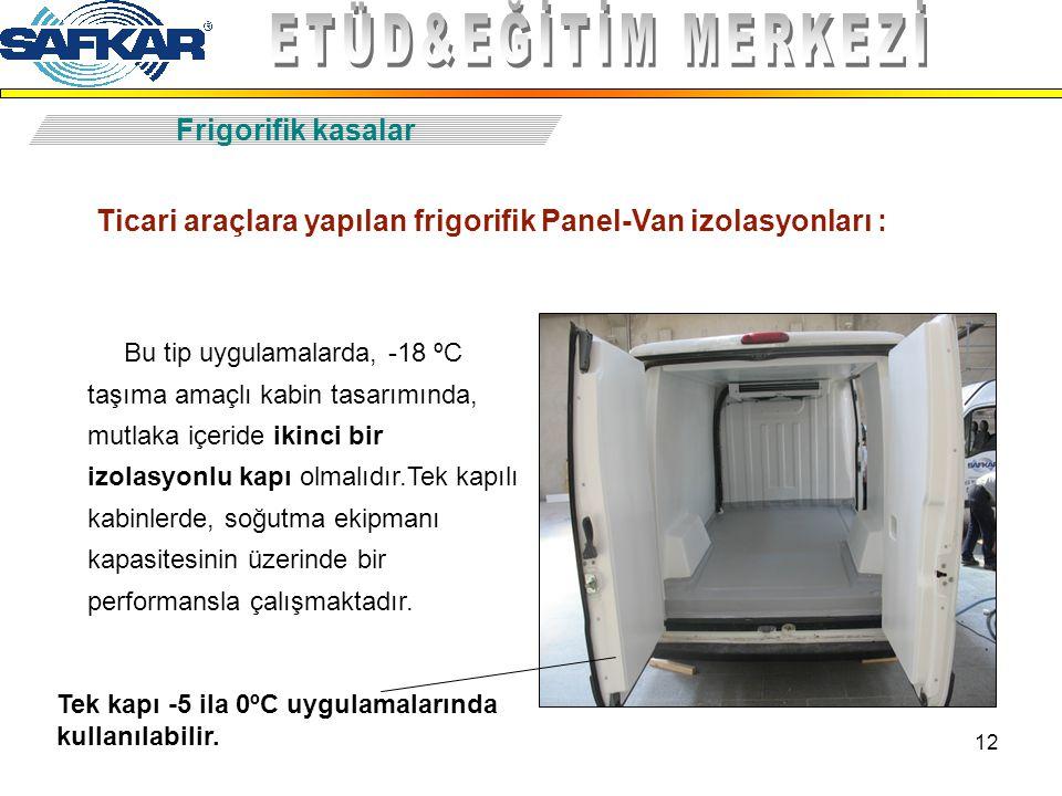 ETÜD&EĞİTİM MERKEZİ Frigorifik kasalar