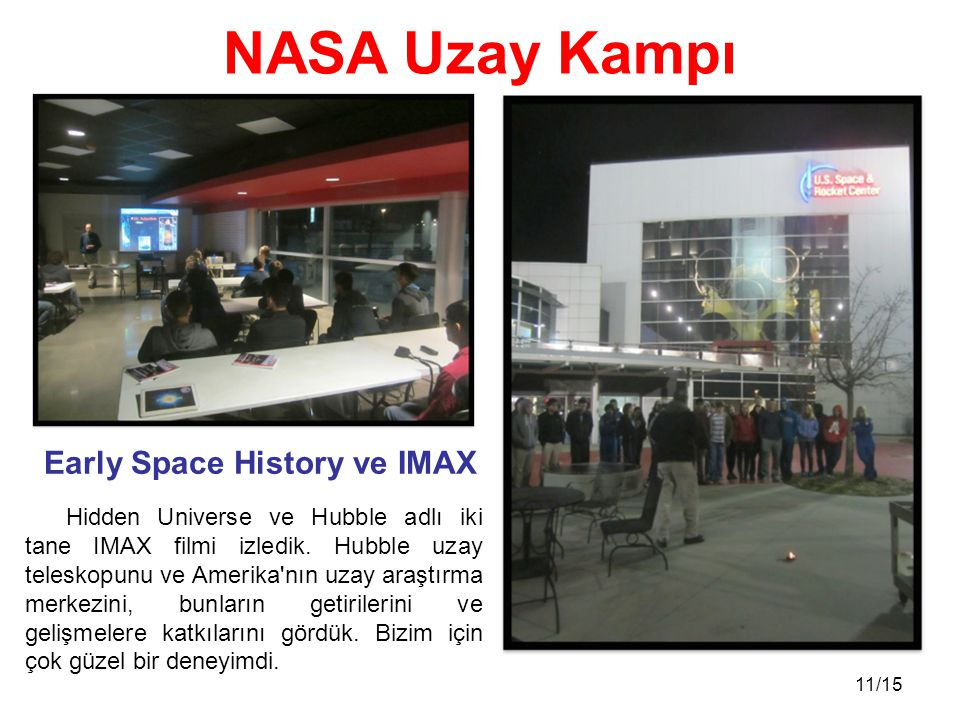 Early Space History ve IMAX
