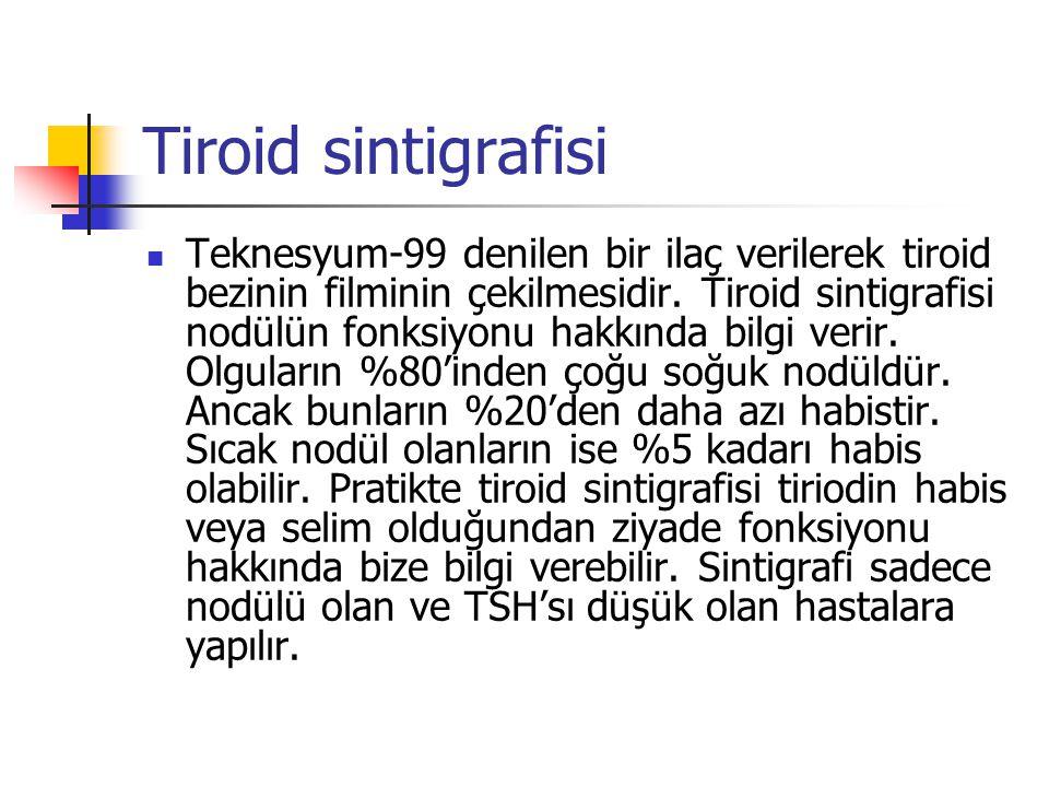 Tiroid sintigrafisi
