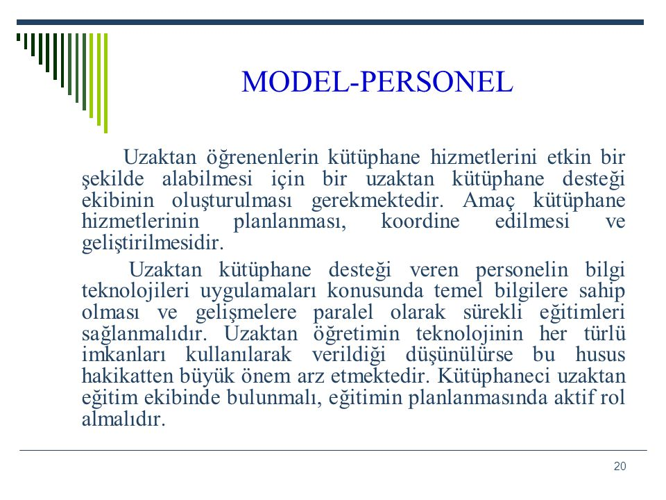 MODEL-PERSONEL