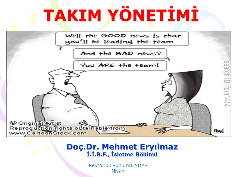 Doç.Dr. Mehmet Eryılmaz İ.İ.B.F., İşletme Bölümü