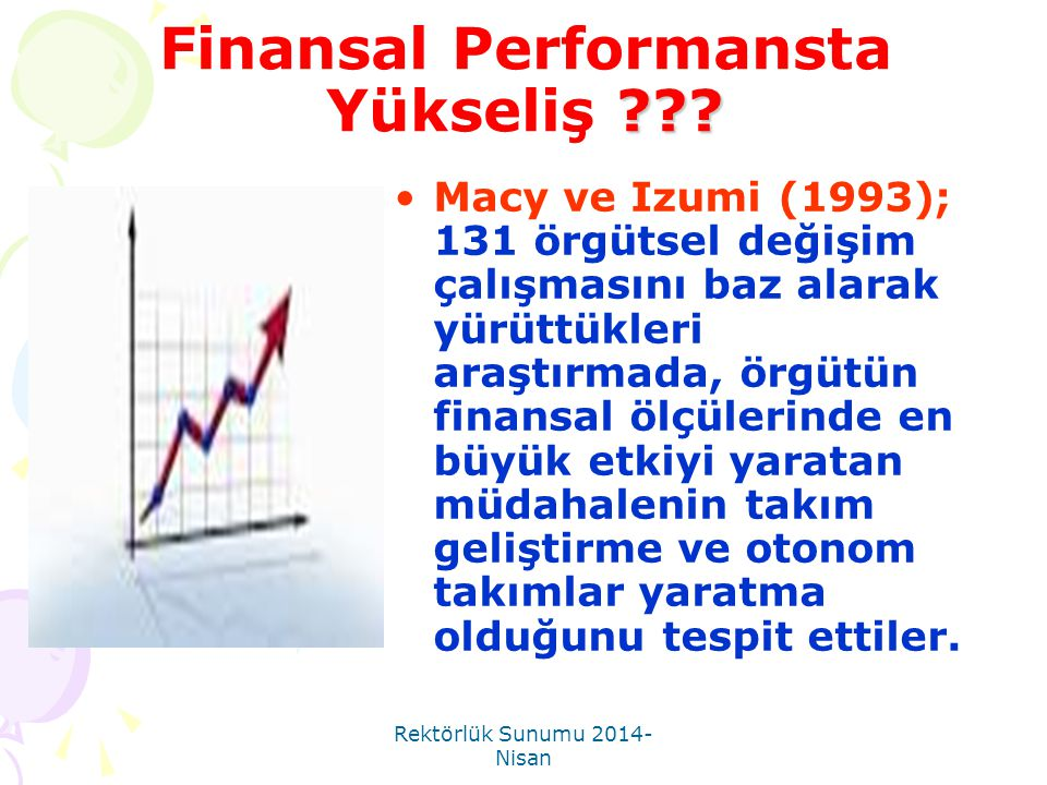 Finansal Performansta Yükseliş