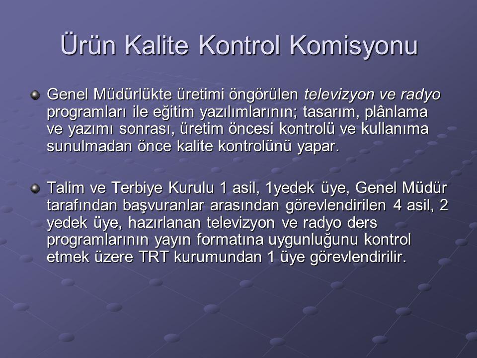 Ürün Kalite Kontrol Komisyonu