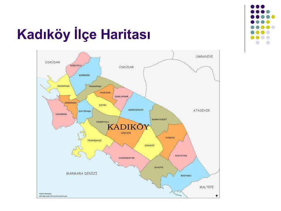 Kadıköy İlçe Haritası
