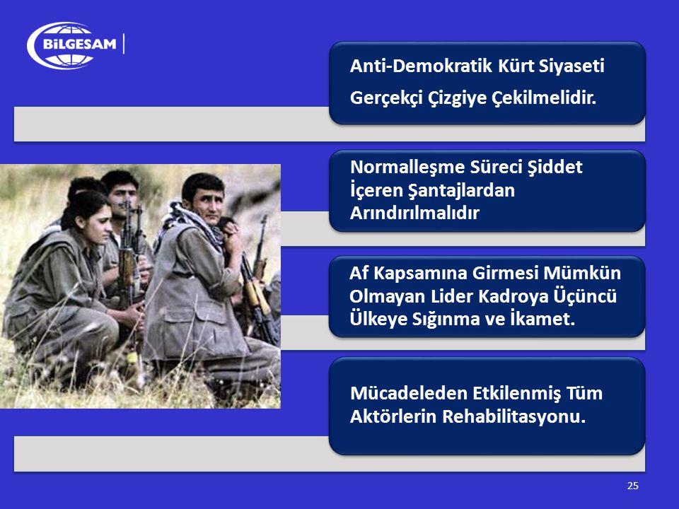 Anti-Demokratik Kürt Siyaseti
