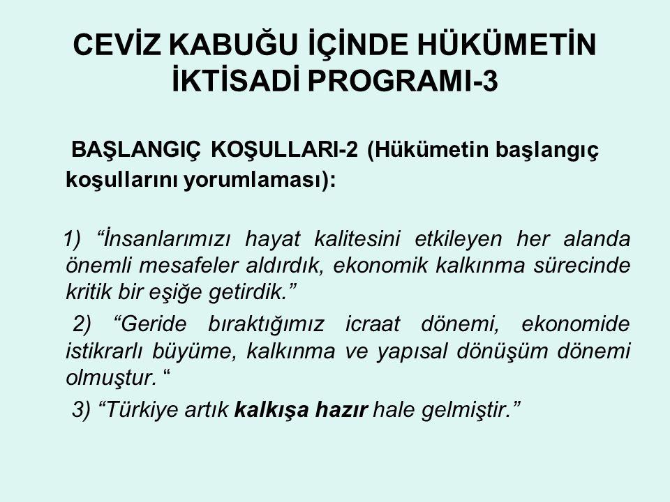 CEVİZ KABUĞU İÇİNDE HÜKÜMETİN İKTİSADİ PROGRAMI-3