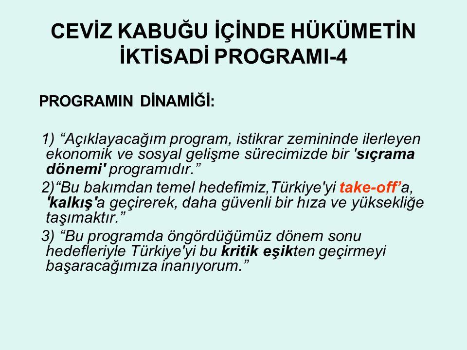 CEVİZ KABUĞU İÇİNDE HÜKÜMETİN İKTİSADİ PROGRAMI-4