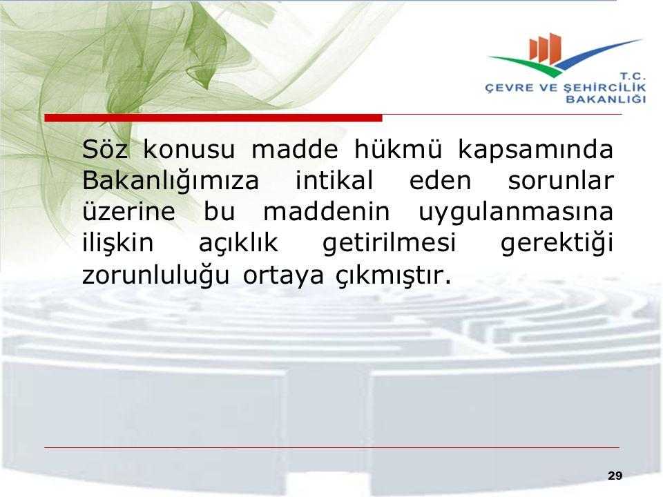 Bu çerçevede, söz konusu madde hükmü kapsamında sıralanan iş ve işlemlerin ilgili mevzuat uyarınca yetkisi bulunan idarelerce gerçekleştirilmesi ve öncelikle, tekliflere ilişkin yatırımcı ve vatandaşlarla anlaşma yolunun denenmesi ve anlaşma sağlanması esastır.