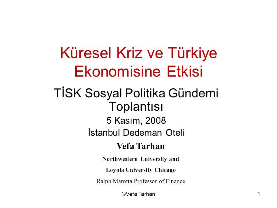 Küresel Kriz ve Türkiye Ekonomisine Etkisi