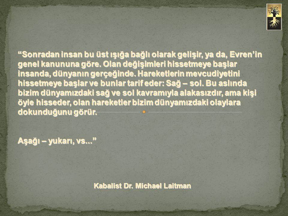 Kabalist Dr. Michael Laitman