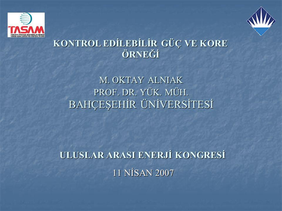 M. OKTAY ALNIAK PROF. DR. YÜK. MÜH. BAHÇEŞEHİR ÜNİVERSİTESİ