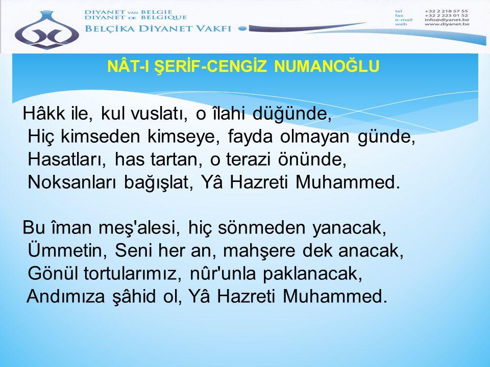 NÂT-I ŞERİF-CENGİZ NUMANOĞLU