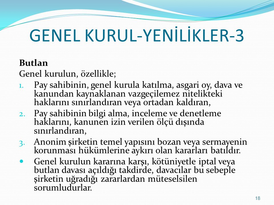 GENEL KURUL-YENİLİKLER-3