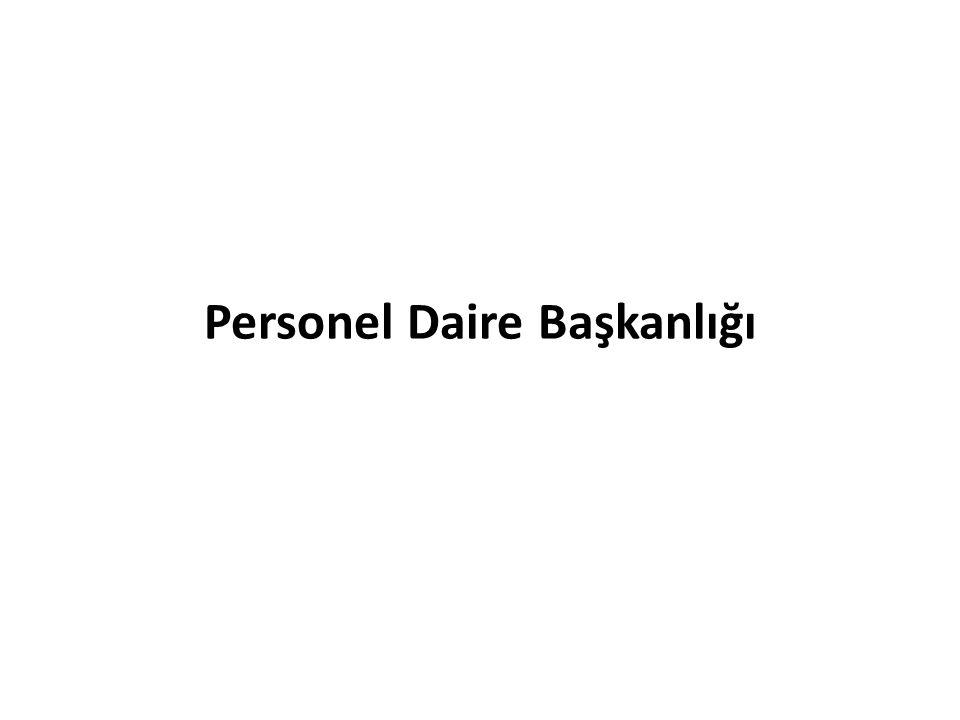 Personel Daire Başkanlığı