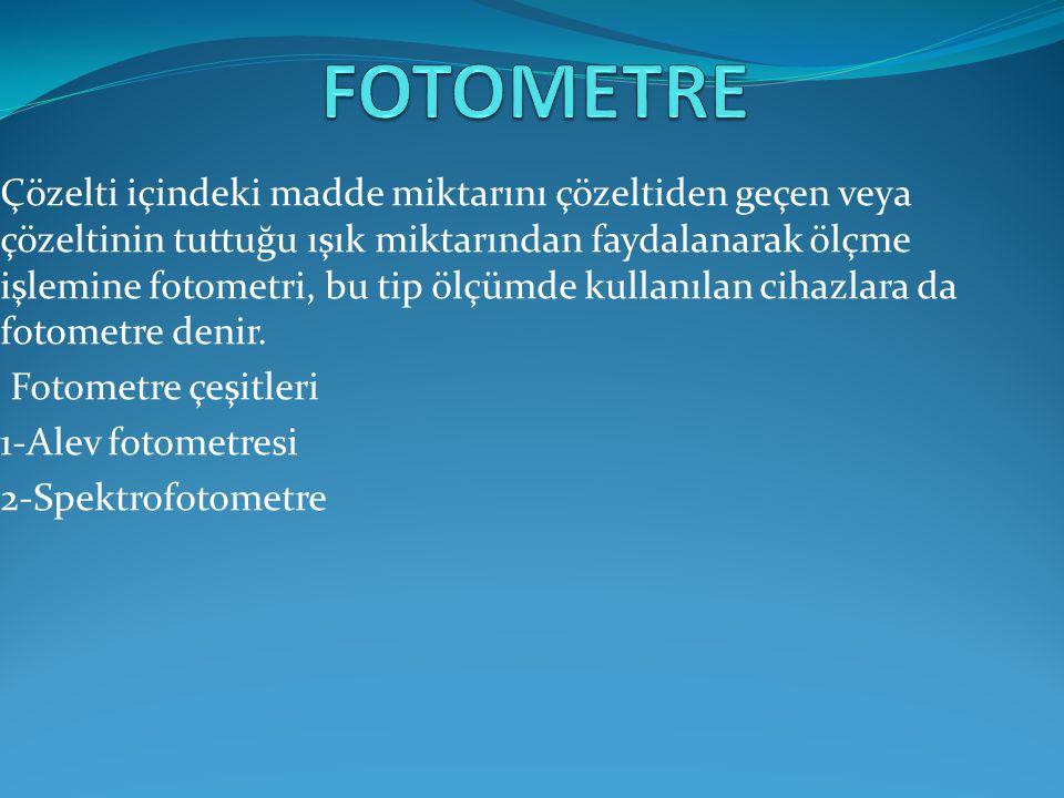 FOTOMETRE