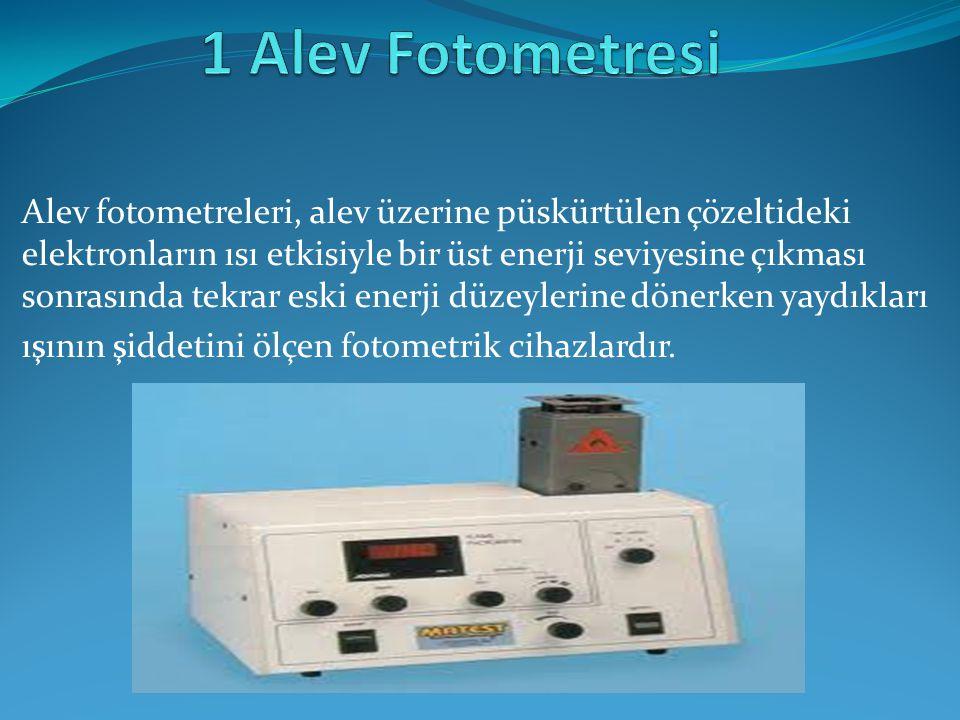 1 Alev Fotometresi