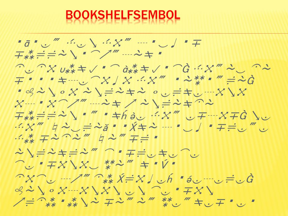 BooksHelfSembol