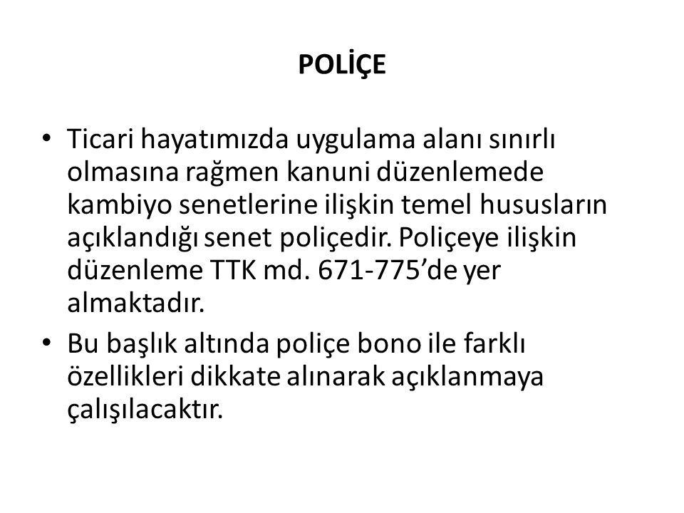 POLİÇE