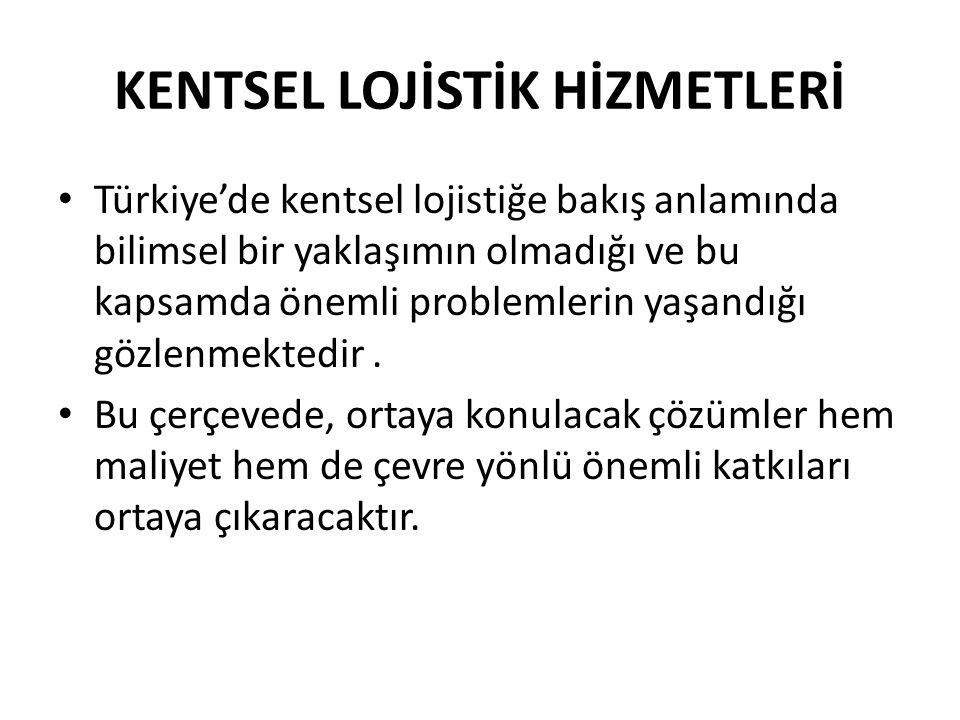 KENTSEL LOJİSTİK HİZMETLERİ