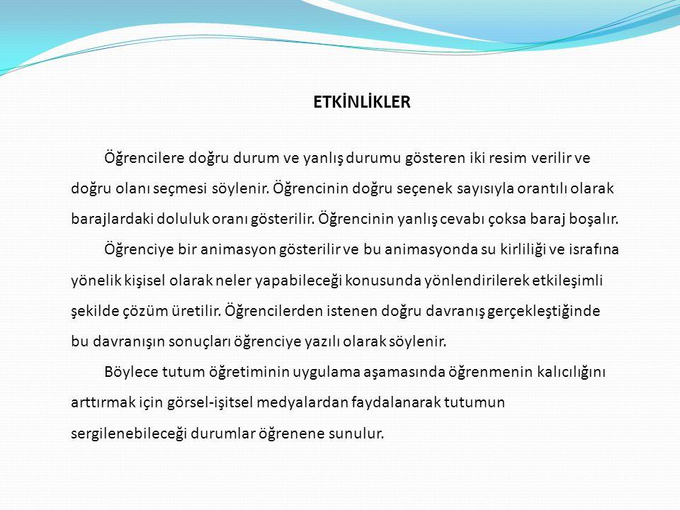 ETKİNLİKLER