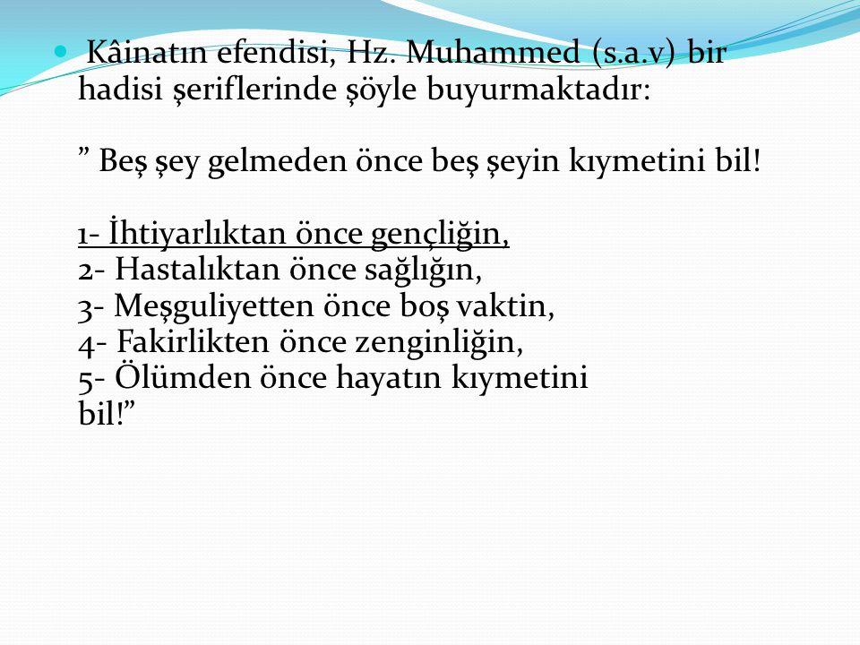 Kâinatın efendisi, Hz. Muhammed (s. a