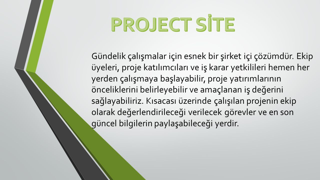 PROJECT SİTE
